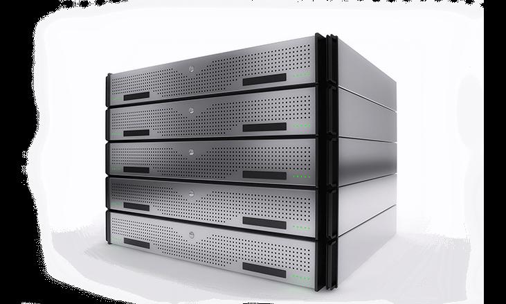 Server box stack