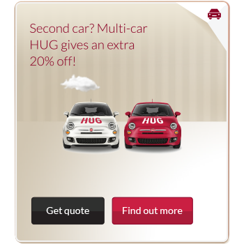 Multi car insurance discount advert